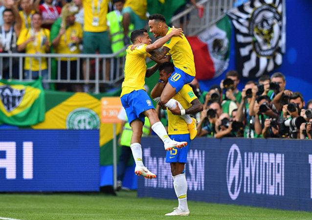 مباراة البرازيل والمكسيك