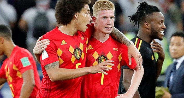 لاعب المنتخب البلجيكي كيفن دي بروين