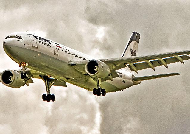طائرة إيرباص للخطوط الجوية الإيرانية