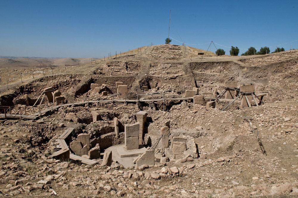 كوبيكلي تبه، وهو موقع جبلي مقدس من العصر الحجري، تركيا