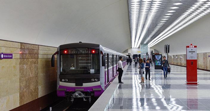 مترو باكو