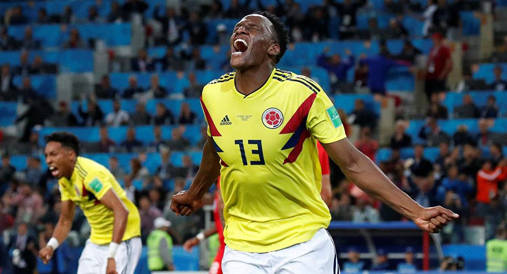 لاعب المنتخب الكولومبي ياري مينا