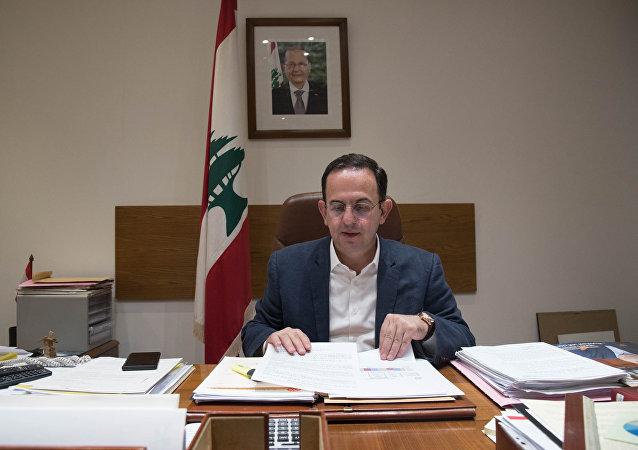 وزير السياحة اللبناني أواديس كيدانيان