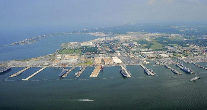 قاعدة عسكرية بحرية أمريكية