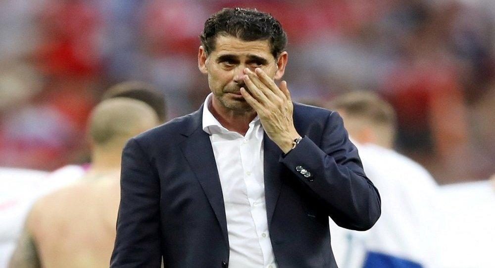 مدرب المنتخب الإسباني فيرناندو هييرو