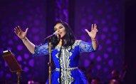 المطربة الإماراتية أحلام في ختام مهرجان موازين في المغرب، 30 يونيو/حزيران 2018