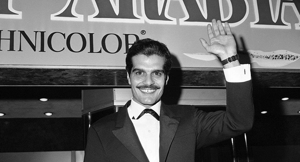 الممثل المصري العالمي عمر الشريف