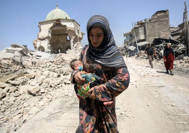 الموصل - يوليو، 2017، العراق