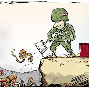 الإرهابيون في إدلب يقتلون بعضهم البعض