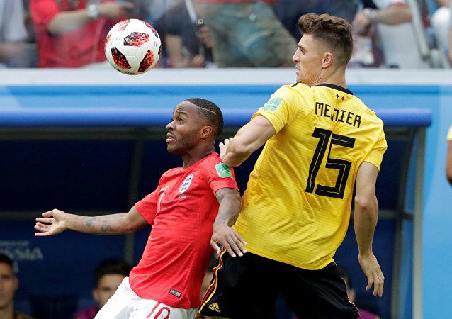 مباراة إنجلترا وبلجيكا في كأس العالم 2018