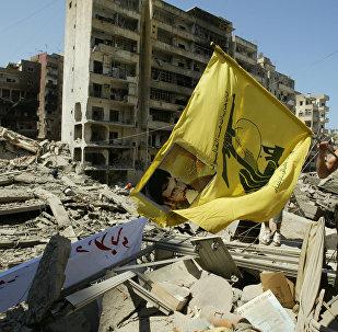 الضاحية الجنوبية في بيروت بعد القصف الإسرائيلي خلال حرب تموز عام 2006