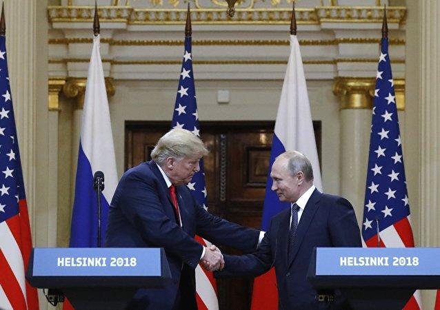 لقاء ترامب مع بوتين في هلسنكي
