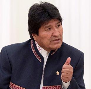رئيس بوليفيا، إيفو مورالس