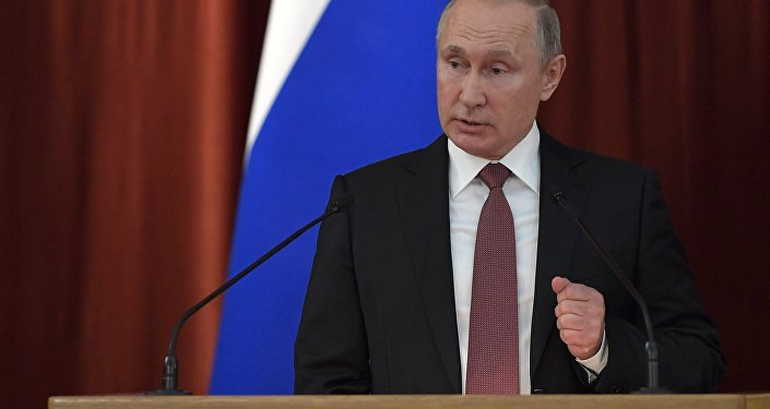 بوتين في اجتماع السفراء ومندوبي روسيا في الخارج ، 19 يوليو/تموز