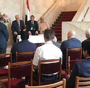 السفارة اليمنية تحتفل بالذكرى الـ 90 لإقامة العلاقات مع روسيا