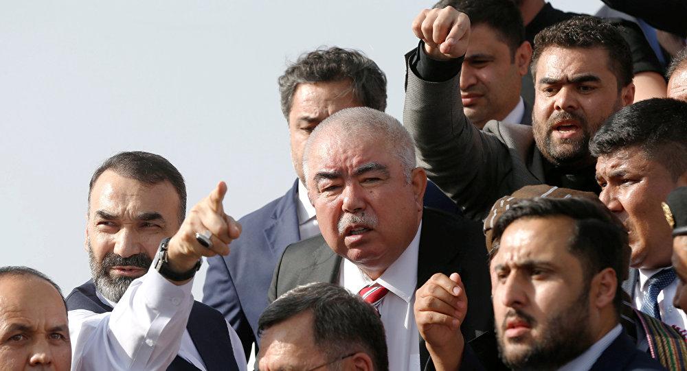 نائب الرئيس الأفغاني، عبدالرشيد دستم