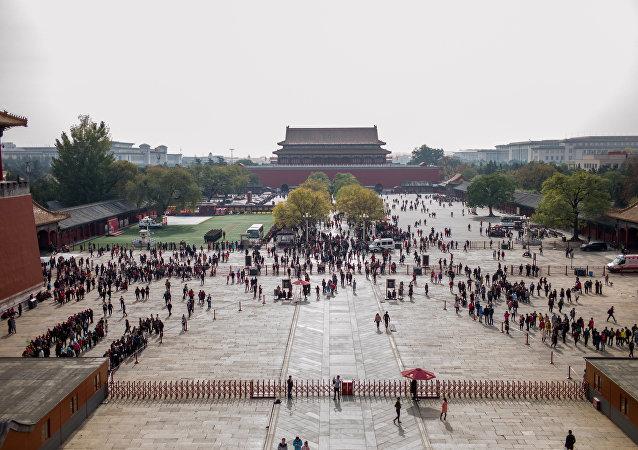 متحف المدينة المحرمة في الصين