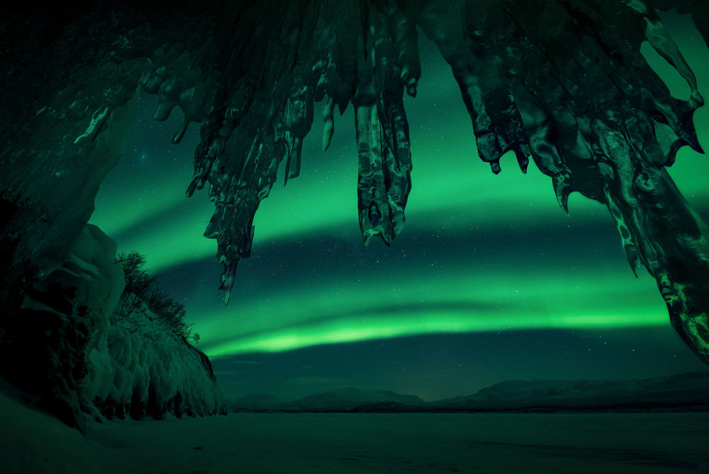 صورة بعنوان Ice Castle، للمصور أريلد هايتمان