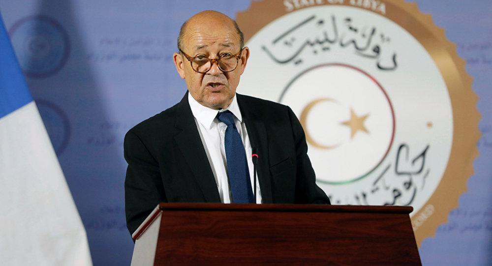 وزير الخارجية الفرنسي جان إيف لودريان