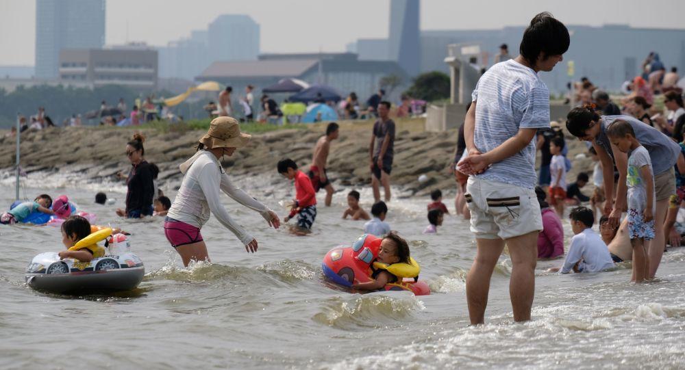 ارتفاع غير مسبق لدرجات الحرارة في طوكيو، اليابان 22 يوليو/ تموز 2018
