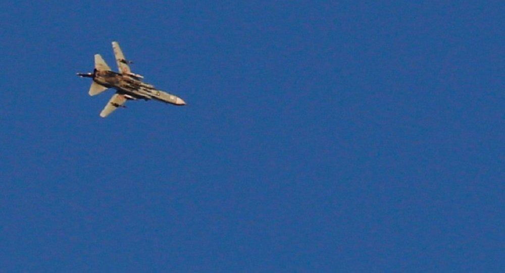 طائرة حربية سورية