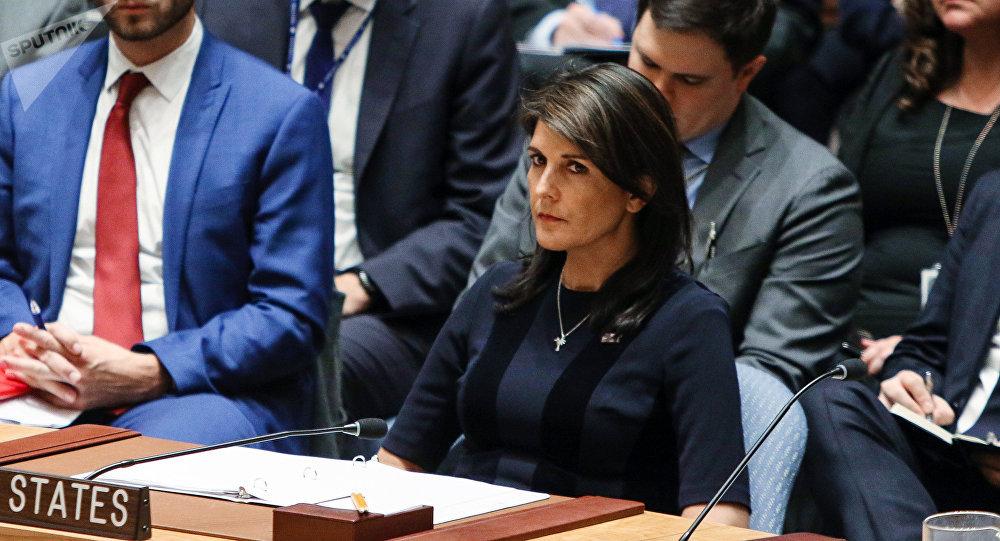 نيكي هايلي مندوبة أمريكا في الأمم المتحدة