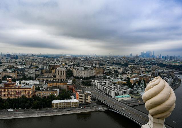 مشهد يطل على مدينة موسكو