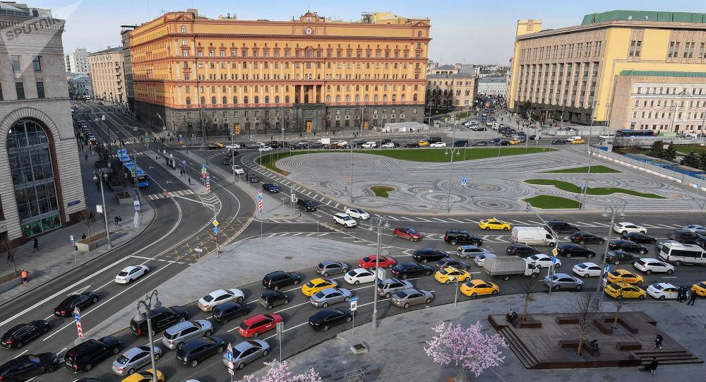 مشهد يطل على مدينة موسكو - ساحة ليوبيانكا