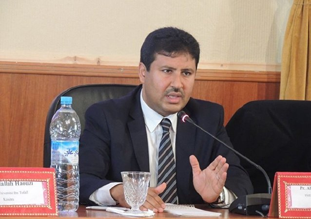 عضو الأمانة العامة لحزب العدالة والتنمية والقيادي البرلماني في حزب رئيس الحكومة، عبد العالي حامي الدين