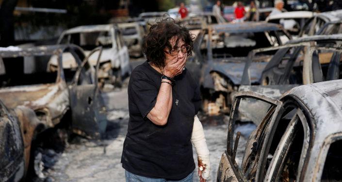 تراجيديا اليونان - ما بعد الحرائق الهائلة، 24 يوليو/ تموز 2018
