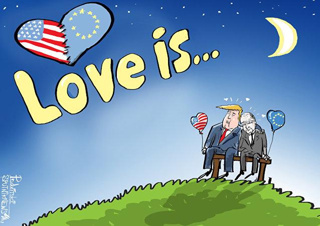 الحب هو...ترامب والاتحاد الأوروبي