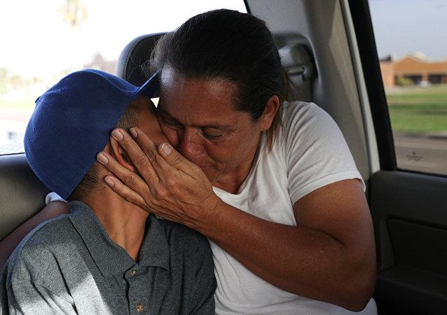 أطفال المهاجرين من دول أمريكا الوسطى في أمريكا
