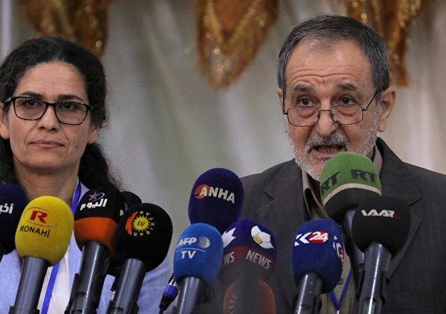 رياض درار الرئيس المشترك لمجلس سوريا الديمقراطية