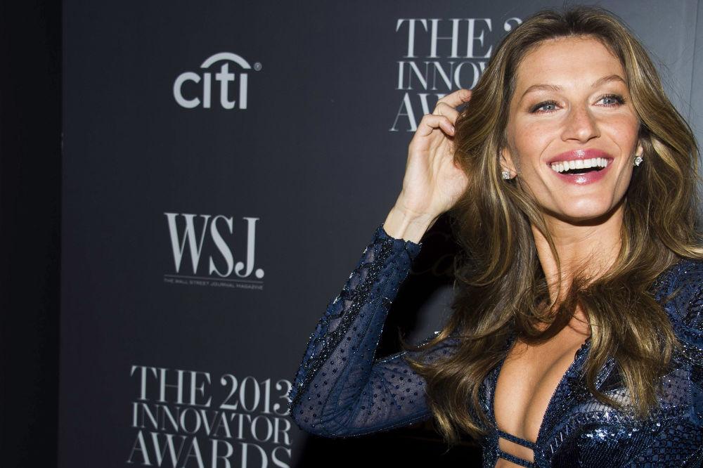 عارضة أزياء البرازيلية جيزيل بيوندخين