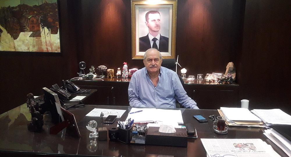 نتيجة بحث الصور عن صور سمير حسن رئيس مجلس الاعمال السوري - الروسي