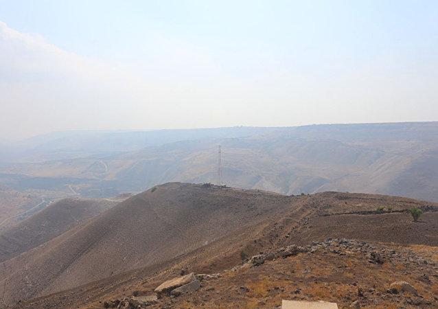 صورة للمرصد الإسرائيلي في الجولان المحتل