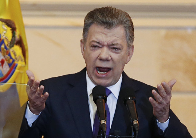 رئيس كولومبيا السابق خوان مانويل سانتوس