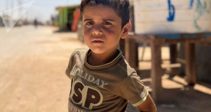 مخيم الزعتري لللاجئين السوريين في الأردن