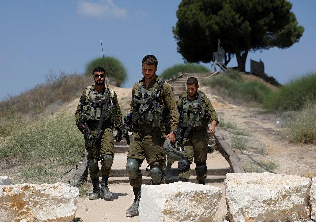 الجيش الإسرائيلي على الحدود مع قطاع غزة، 9 أغسطس/ آب 2018