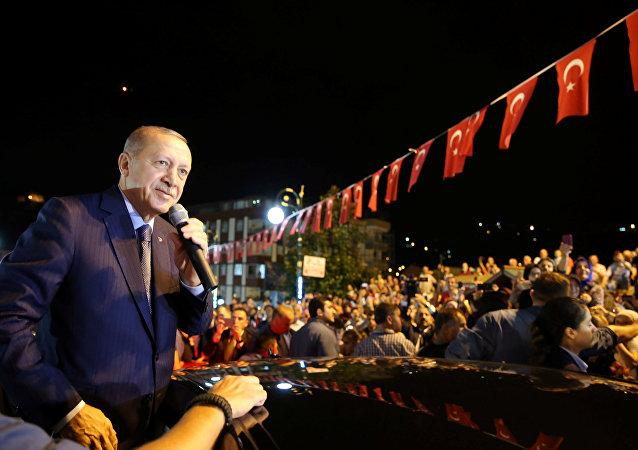 الرئيس رجب طيب أردوغان، تركيا 10 أغسطس/ آب 2018