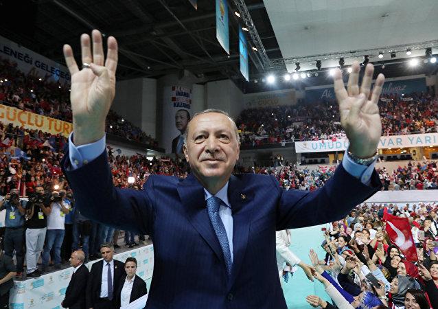 الرئيس رجب طيب أردوغان، تركيا 4 أغسطس/ آب 2018