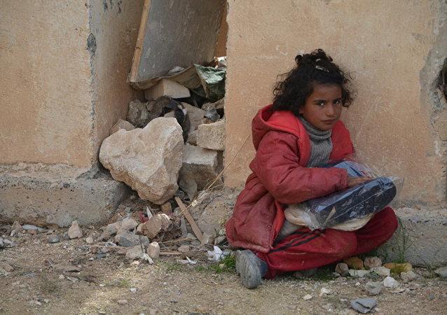 روسيا معكم... مع الحب تزين موائد الفقراء في حلب