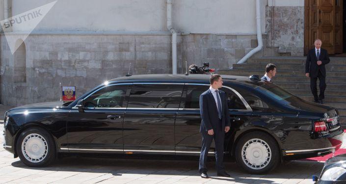 سيارة الرئيس الروسي فلاديمير بوتين