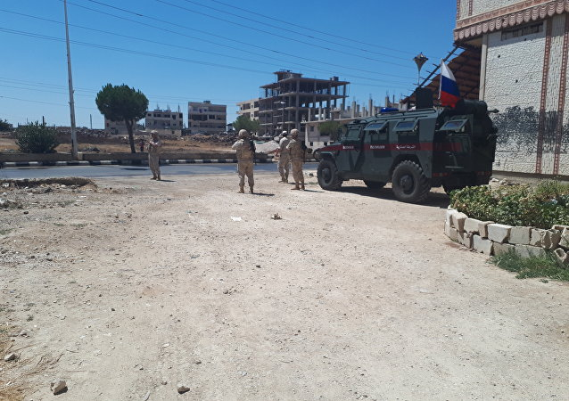 دوريات الشرطة الروسية والسورية تبسط الأمن والطمأنينة في ريف القنيطرة