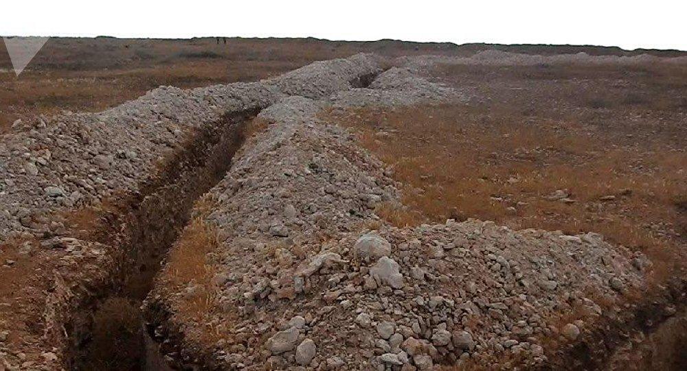 منطقة يسيطر عليها التركستان في محافظة إدلب