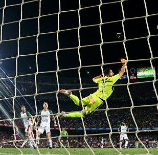 مباراة برشلونة وألافيس في الدوري الإسباني 2018