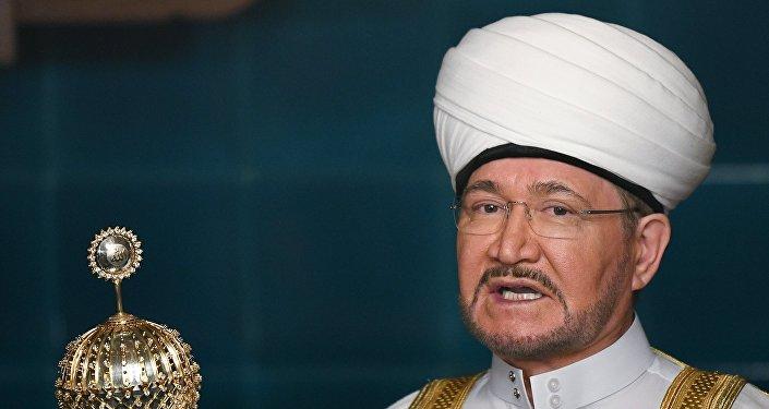 رئيس مجلس مفتي روسيا والإدارة الروحية لمسلمي روسيا، الشيخ راوي عين الدين
