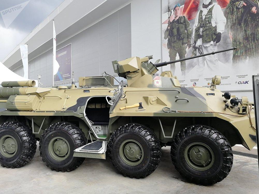المدرعة بي تي إر-82أ (BTR-82A)