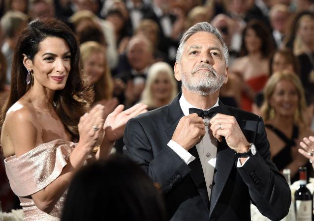 الممثل والمخرج جورج كلوني