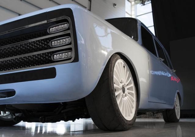 شركة كلاشنيكوف تقدم  سيارة كهربائية جديدة إس في-1